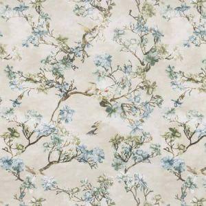 SAKURA Rainforest Vervain Fabric