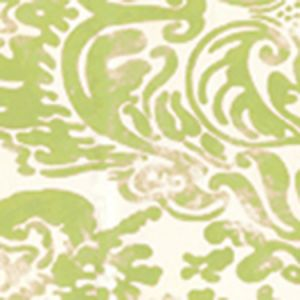 2330-29WP SAN MARCO Chartreuse On Off White Quadrille Wallpaper