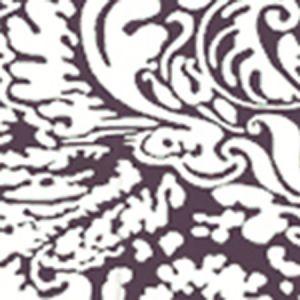 2330-33WP SAN MARCO Prune On Off White Quadrille Wallpaper