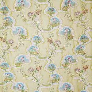SB 00051357 PONTE DI FIORI Gold Old World Weavers Fabric