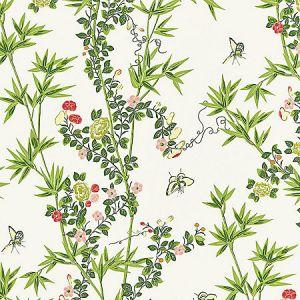 SC 0001WP88375 WP88375-001 JARDIN DE CHINE Spring Scalamandre Wallpaper