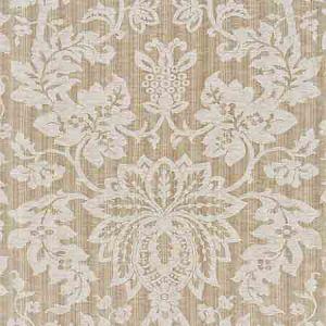 SC 000227136 27136-002 METALLINE DAMASK Flax Scalamandre Fabric
