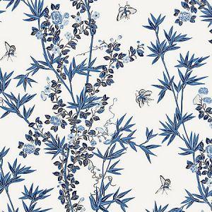 SC 0002WP88375 WP88375-002 JARDIN DE CHINE Porcelain Scalamandre Wallpaper