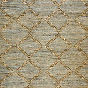 SC 0003WP88383 WP88383-003 MONROE EMBROIDERED GRASSCLOTH Bronze Scalamandre Wallpaper