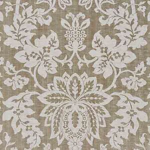 SC 000427136 27136-004 METALLINE DAMASK Smoke Scalamandre Fabric