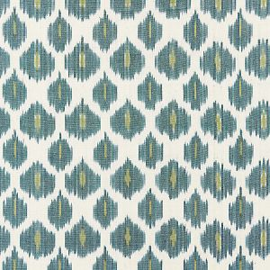 27176-004 AMARA IKAT WEAVE Peacock Scalamandre Fabric