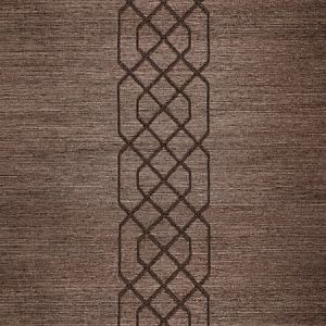 SC 0004WP88385 WP88385-004 ADELAIDE BEADED SISAL Chocolate Scalamandre Wallpaper