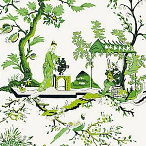 SC 0013WP81212 WP81212-013 CH'IN LING Jade Scalamandre Wallpaper