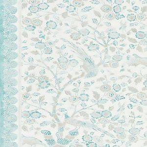 SC 0001 16625 ANISSA PRINT Misty Island Scalamandre Fabric