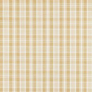 27122-001 PRESTON COTTON PLAID Camel Scalamandre Fabric
