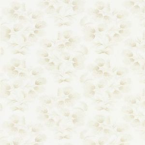SC 0001 27233 HANA EMBROIDERY Oat Scalamandre Fabric