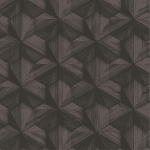 WP88425-001 BENT WOOD Dark Brown Scalamandre Wallpaper