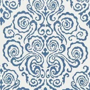 27219-002 CIRRUS VELVET DAMASK Morning Glory Scalamandre Fabric