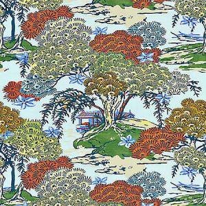SC 0003 16627 SEA OF TREES Kaleidescope Scalamandre Fabric