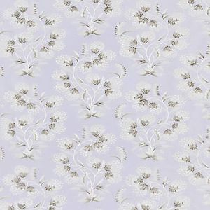 SC 0003 27233 HANA EMBROIDERY Lilac Scalamandre Fabric