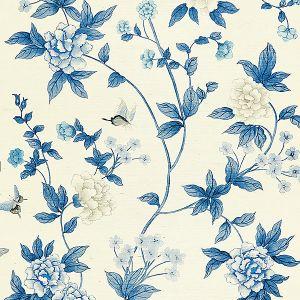 SC 0003WP88382 WP88382-003 LUOYANG GARDEN SISAL Porcelain Scalamandre Wallpaper