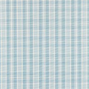 27122-004 PRESTON COTTON PLAID Sky Scalamandre Fabric