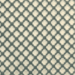 26692-005 POMFRET Blue On Beige Scalamandre Fabric