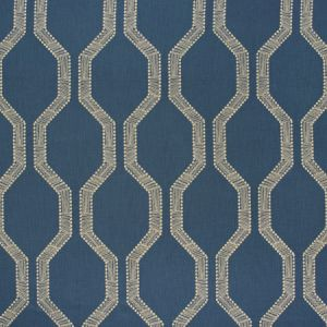 SEEMINGLY KNOT Midnight Carole Fabric