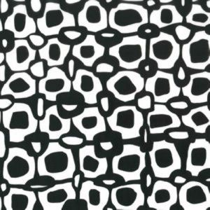 STARWOOD Black Norbar Fabric