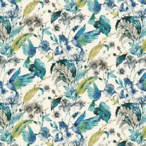 SWISS Dream Blue Norbar Fabric