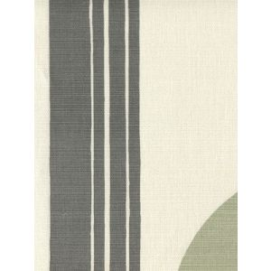 7830V-07 TETE A TETE VERTICAL Dark Gray Gray Lime Quadrille Fabric