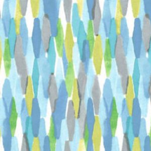 TIBET Island Blue 2 Norbar Fabric