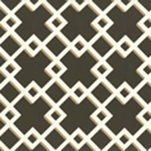 302799W TODD Brown On Almost White Quadrille Wallpaper