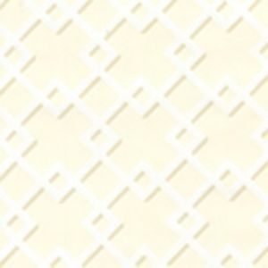 302790W TODD Cream On Almost White Quadrille Wallpaper