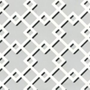 302792WW TODD Gray Black On White Quadrille Wallpaper