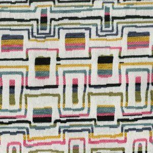 TRAVIS Black Norbar Fabric