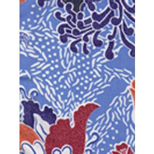 2060-01 TROPICANA II Blues Quadrille Fabric