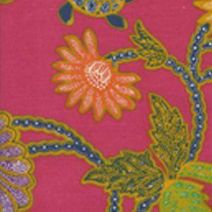 2310-05 TURTLE BATIK Magenta Multi Quadrille Fabric