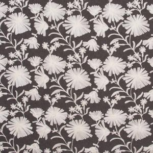 UNEXPECTED GRACE Chocolate Carole Fabric
