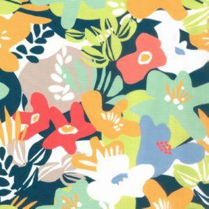 UTAH Indigo Norbar Fabric