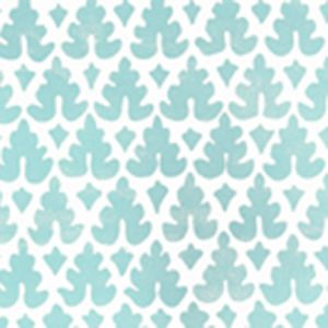 304040WP VOLPI Turquoise Quadrille Wallpaper