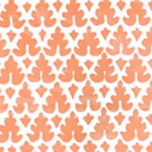 304041WP VOLPI Orange Quadrille Wallpaper