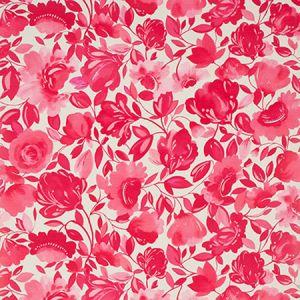 W0066/05 CAITLIN Raspberry Clarke & Clarke Wallpaper