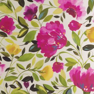 W0075/01 ROSINA JUMBO Fuchsia Clarke & Clarke Wallpaper