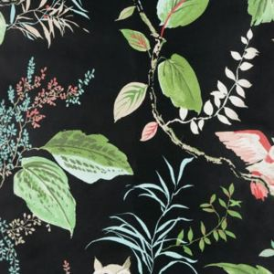 W3331-819 OWLISH Black Kravet Wallpaper