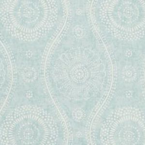W3500-35 PAINTERLY Aqua Kravet Wallpaper