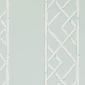 W3502-135 LATTICEWORK Aqua Kravet Wallpaper