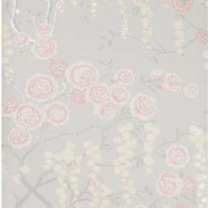 W3507-417 PEONY TREE Petal Kravet Wallpaper