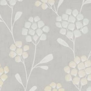 W3511-411 SCANDI FLORA Citrine Kravet Wallpaper