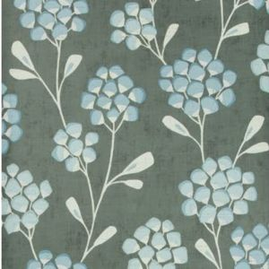 W3511-521 SCANDI FLORA Graphite Kravet Wallpaper
