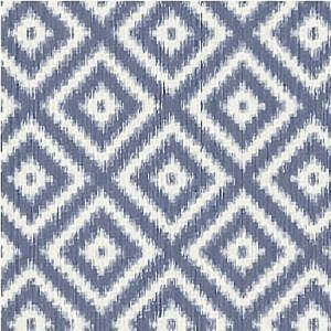 WBP10802 IKAT DIAMOND Indigo Winfield Thybony Wallpaper