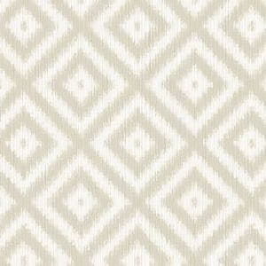 WBP10805 IKAT DIAMOND Kahki Winfield Thybony Wallpaper