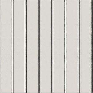 WBP11400 TICKING STRIPE Charcoal Winfield Thybony Wallpaper