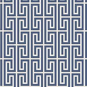 WBP11902 SANTORINI Indigo Winfield Thybony Wallpaper
