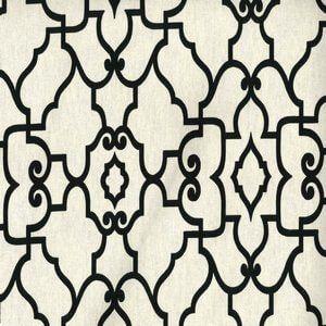 WENTWORTH Ebony Ivory 916 Norbar Fabric